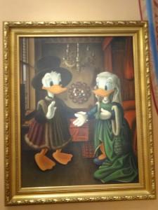 Early Modern Donald & Daisy
